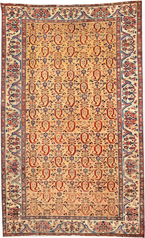 A Malayer carpet  Central Persia size approximately 7ft. 1in. x 11ft. 3in.