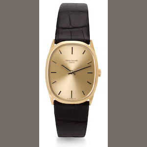 Patek Philippe. A fine 18K gold wristwatchRef.3546, Case no. 2739484, Movement no. 1223106, circa 1975