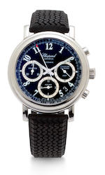 Chopard. A limited edition stainless steel automatic chronograph wristwatch with dateConcours on Rodeo 2001, No. 23 / 25, No. 828341 / 8331