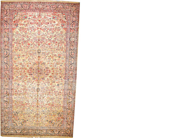 A Kazvin carpet  Northwest Persia size approximately 11ft. 9in. x 20ft. 6in.