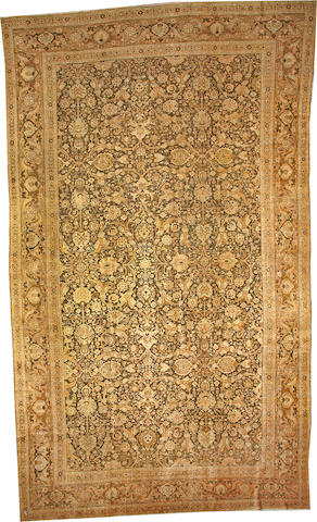 A Tabriz carpet  Northwest Persia size approximately 11ft. x 18ft. 8in.