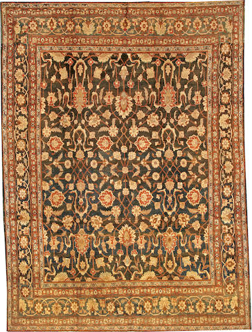 A Tabriz carpet  Northwest Persia size approximately 8ft. 5in. x 11ft. 2in.