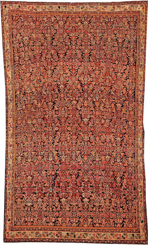 A Maylayer rug Central Persia size approximately 3ft. 9in. x 6ft. 5in.