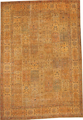 A Tabriz carpet  Northwest Persia size approximately 9ft. 3in. x 13ft. 6in.