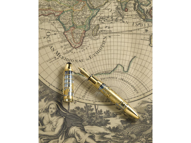 MONTBLANC: Hommage à John Harrison Skeleton Limited Edition 333 Fountain Pen