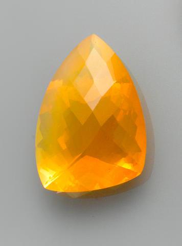 Brazilian Orange Opal