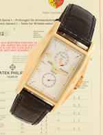 Patek Philippe. A fine limited edition 18K gold wristwatch with 10 day power reserveRef: 5100J, Case No. 4091274, Movement No. 3201495, sold in 2000