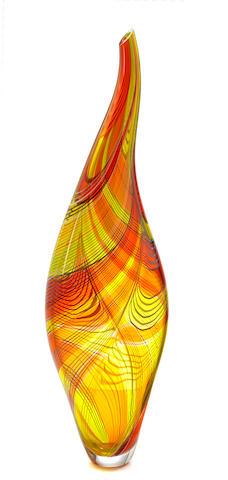 Afro Celloto (Italian, born 1963) vase