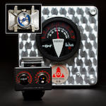 MB & F. A very fine unusual retrograde / digital automatic timepiece with calendar and moonphaseMaximillian Büsser & Friends, Alan Silberstein, Horological Machine No. 2.2, Number 5 of a limited edition of 8, sold 2010