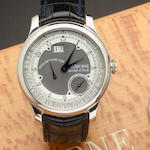F. P. Journe. A fine limited edition platinum automatic wristwatch with Zodiacal calendar and 120-hour power reserveZodiaque, No. 016 / 150 - Z, made in 2004