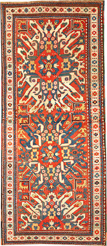 An Eagle Kazak rug  Caucasus size approximately 3ft. 6in. x 8ft. 1in.