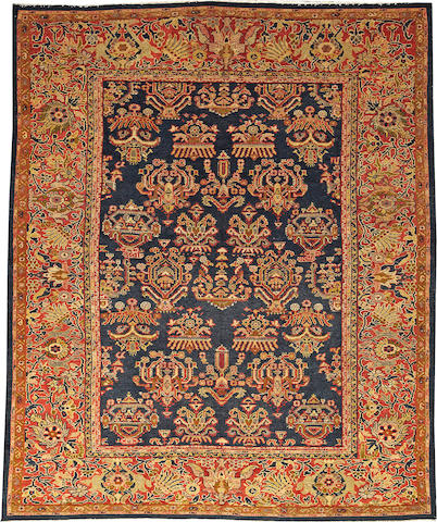 A Sultanabad rug  Central Persia size approximately 7ft. 4in. x 8ft. 10in.