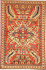 A Eagle Kazak rug  Caucasus size approximately 4ft. 3in. x 6ft. 4in.
