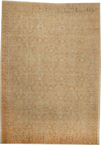 A Sultanabad carpet  Central Persia size approximately 11ft. 4in. x 16ft.