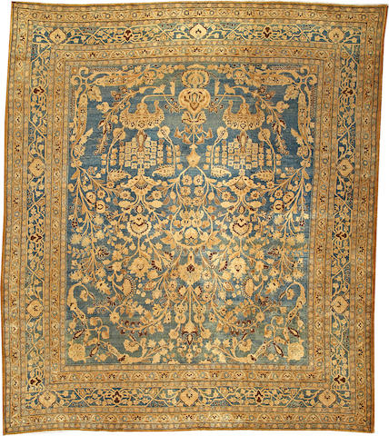 A Tabriz carpet  Northwest Persia size approximately 10ft. 6in. x 12ft.