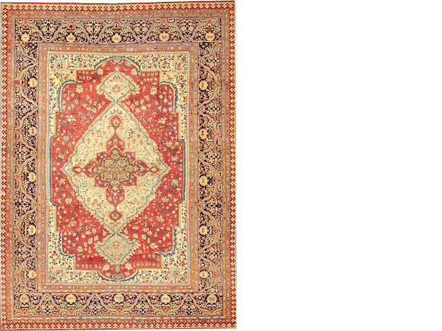 A Sarouk Fereghan carpet  Central Persia size approximately 8ft. 9in. x 11ft. 7in.
