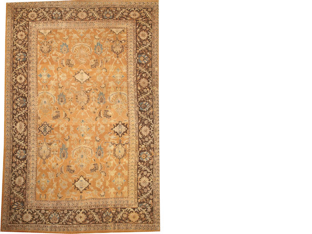 A Sultanabad carpet  Central Persia size approximately 10ft. 3in. x 15ft. 3in.