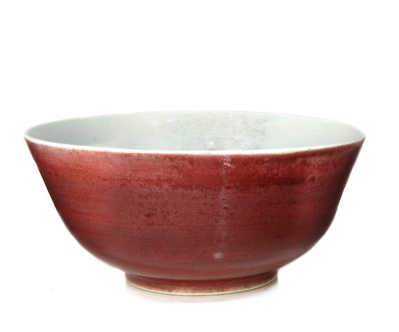 A langyao glazed porcelain bowl 18th century
