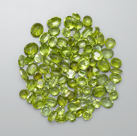 Large Parcel of Peridots