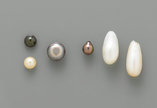Group of Pearls
