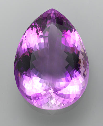 Large Amethyst—A  Member of the 100 Carats Club