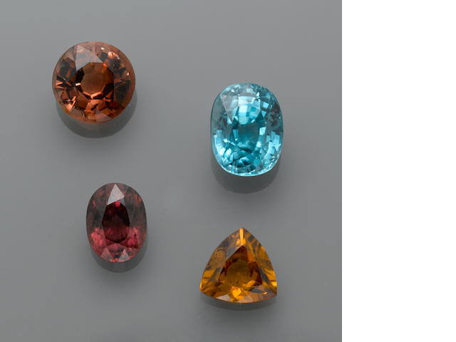 Suite of Four Zircons