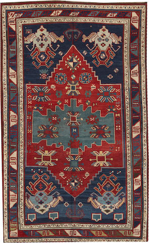 A Kazak rug  Caucasus size approximately 4ft. 11in. x 7ft. 11in.