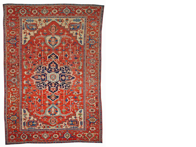 A Serapi carpet Northwest Persia size approximately 10ft. x 14ft. 4in.