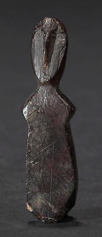 An ancient Eskimo ivory figure