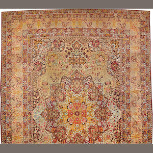 A Lavar Kerman carpet  South Central Persia size approximately 15ft. 3in. x 23ft. 8in.