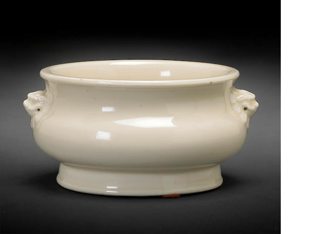A Dehua porcelain censer 17th century