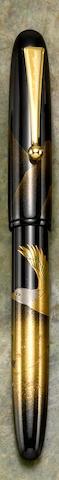 [Maki-e] NAMIKI: Bald Eagle Maki-e Limited Edition 700 Fountain Pen