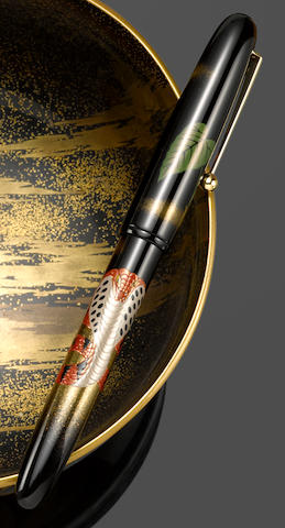 [Maki-e] NAMIKI: King Cobra Maki-e Limited Edition 700 Fountain Pen