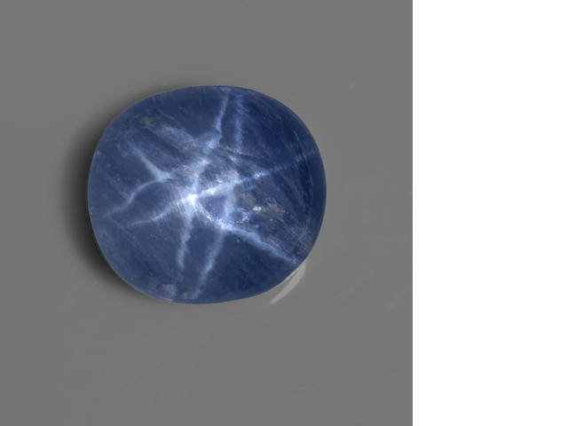 Rare Double-star Blue Sapphire