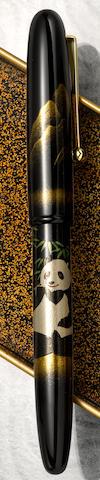 [Maki-e] NAMIKI: Panda Maki-e Limited Edition 700 Fountain Pen