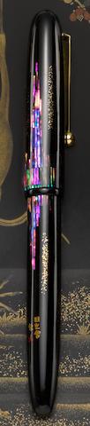 [maki-e] NAMIKI: Yukari Nightline Maki-e Fountain Pen