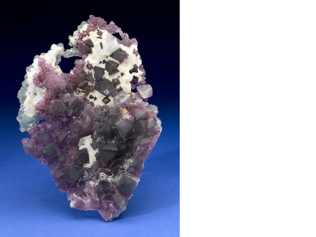 Stunning Purple and Green Fluorite