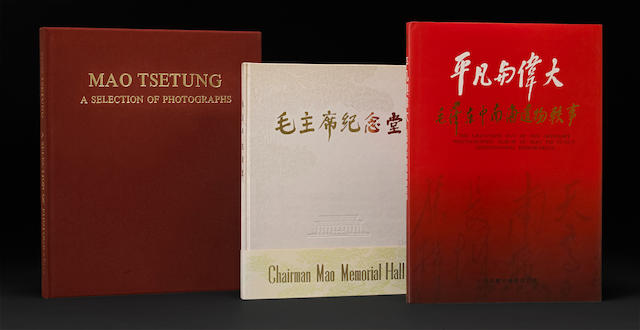 A group of three rare photography and history books relating to Mao Zedong (Mao Tse-Tung)