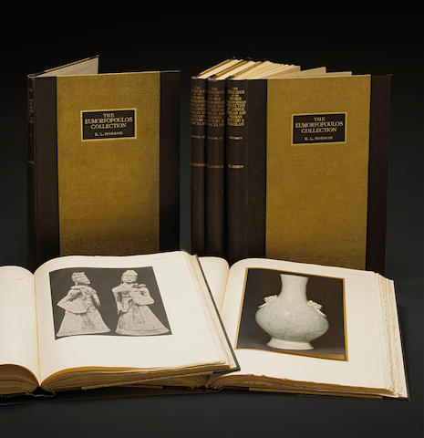 The George Eumorfopoulos Collection Catalogue of the Chinese, Corean and Persian Pottery and Porcelain