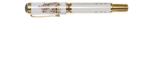 MONTBLANC: Marquise de Pompadour Patron of Art Series Limited Edition 888 Fountain Pen