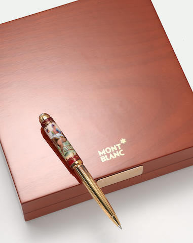 MONTBLANC: Art of Porcelain Limited Edition 10 Ballpoint Pen