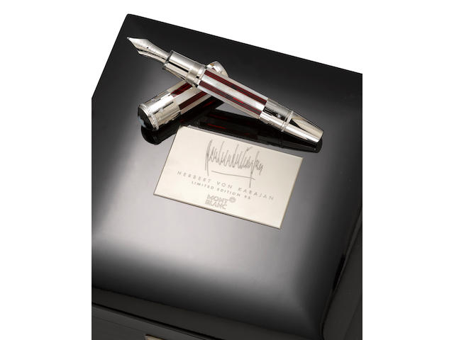 MONTBLANC: 4th of July Limited Edition 56 Skeleton Fountain Pen
