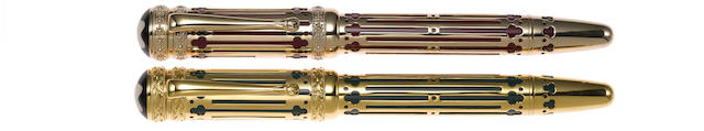 MONTBLANC: Catherine II the Great Patron of Art Series Limited Edition 4810 Fountain Pen *Sealed*