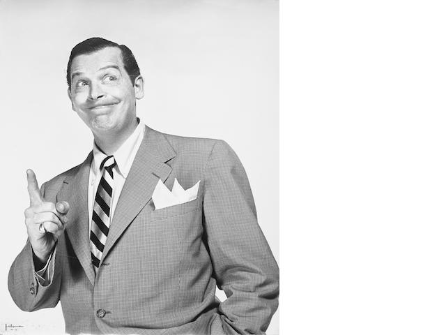 A Philippe Halsman photograph of Milton Berle