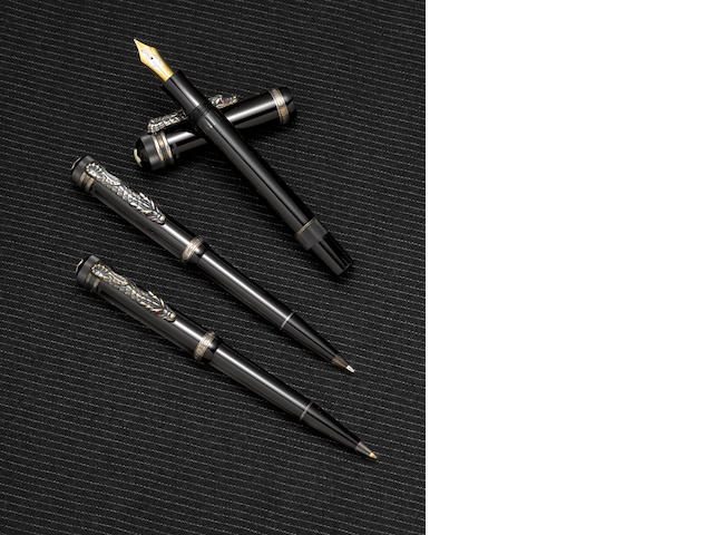 MONTBLANC: Imperial Dragon Limited Edition 3-Piece Set