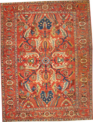 A Serapi carpet Northwest Persia size approximately 11ft. x 14ft. 8in.