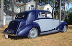Ordered new by H.H. Prince T. Gournelli for cosmetics magnate Helena Rubenstein, ex-Bill Ruger, four owners from new,1938 Rolls-Royce 25/30hp Wraith 7-Passenger Limousine  Chassis no. WXA72 Engine no. A5WB