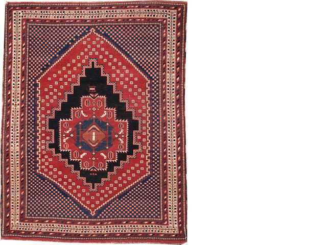 An Afshar rug  Southwest Persia size approximately 4ft. 7in. x 6ft.