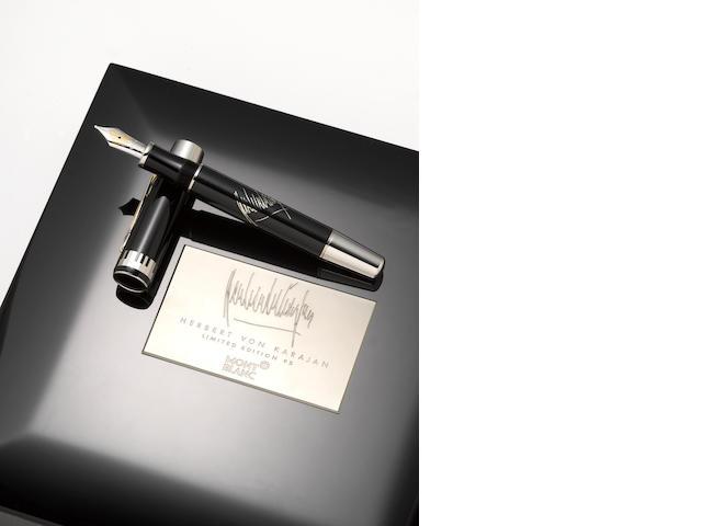 MONTBLANC: Herbert von Karajan Limited Edition 95 Fountain Pen