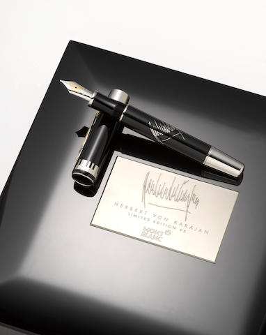 MONTBLANC: Herbert von Karajan Limited Edition 95 Fountain Pen